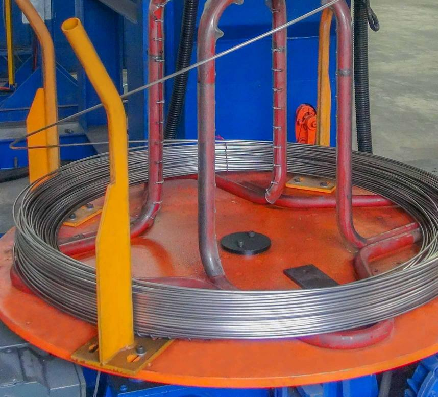 Special alloy wire cold rolling mill, 特殊合金線冷聯軋機
