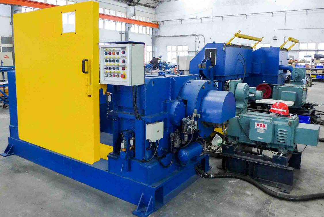 Used reinforcement ribbed wire cold rolling machine LTP type,翻新壓花鋼線冷軋機 LTP型